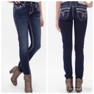Rock Revival Sherry Skinny Ankle Jeans Size 29
